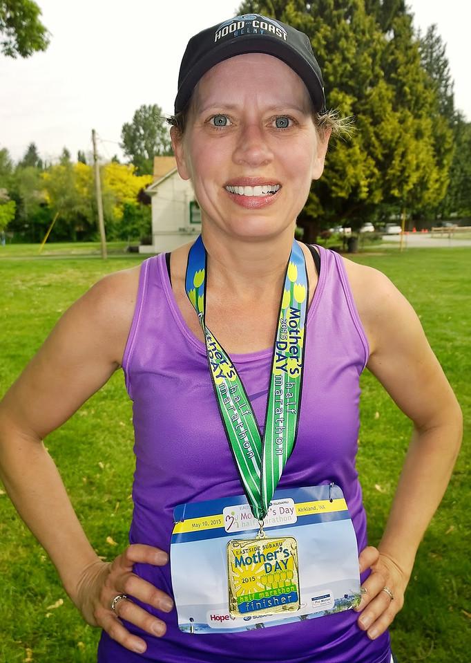 2015 Mother's Day Half Marathon - 2:04:50