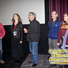 SIFF Programmer Andy Spletzer with Director Cornelia Duryée Moore. producer Larry Estes and some crew at the screening of Camilla Dickinson