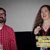 SIFF Programmer Andy Spletzer with Director Cornelia Duryée Moore at the screening of Camilla Dickinson