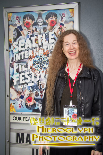 Director Cornelia Duryée Moore at the screening of Camilla Dickinson