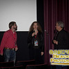SIFF Programmer Andy Spletzer with Director Cornelia Duryée Moore and producer Larry Estes at the screening of Camilla Dickinson
