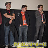 Filmmakers Ryan Denmark, David Valdez, and Jason Witter at the screening of their short, Plush