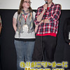 Filmmakers Annie Baker and Jimmy Weber at the screening of their short, Incubator