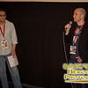 Programmer Dan Doody with Director Alan Brennen