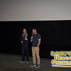 SIFF Programmer Angelo Acerbi with Director Ivan Cotroneo at the screening of Kryptonite!