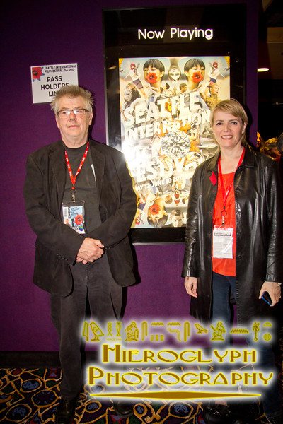 SIFF Programmer with Director André Forcier and Actress Helene Reeves