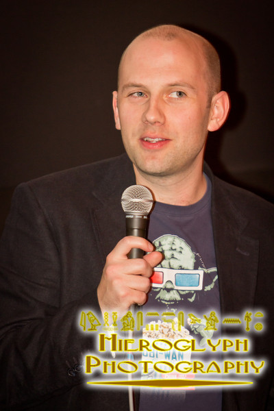 Director Alan Brennan at the Q&A of Earthbound
