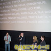 SIFF Programmer Dan Doody with Director Alan Brennan, Actor Jenn Murray and Editor Barry Moen at the Q&A of Earthbound