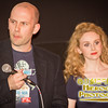 Actor Jenn Murray and Director Alan Brennan at the screening of Earthbound