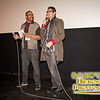 SIFF Programmer Stan Shields and Director Luca Ragazzi at the screening of Italy Love It or Leave It