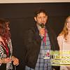 Producer Sarah Crowe, Director Nesib Shamah, and Editor Amy Enser