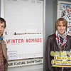 Director Manuel von Sturler and SIFF's Timothee Salze-Lozach at the screening of Winter Nomads