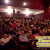 Nearly full crowd at the screening of the Swiss documentary Winter Nomads