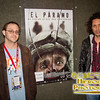 SIFF Programmer Dan Doody with Director Jaime Osorio Marquez at the midnight screening of The Squad