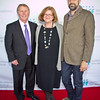 Everett Mayor, Ray Stephanson, with SIFF Directors Deborah Person and Carl Spence.