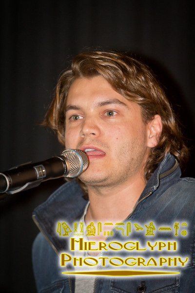 Actor Emile Hirsch at the William Friedkin Tribute