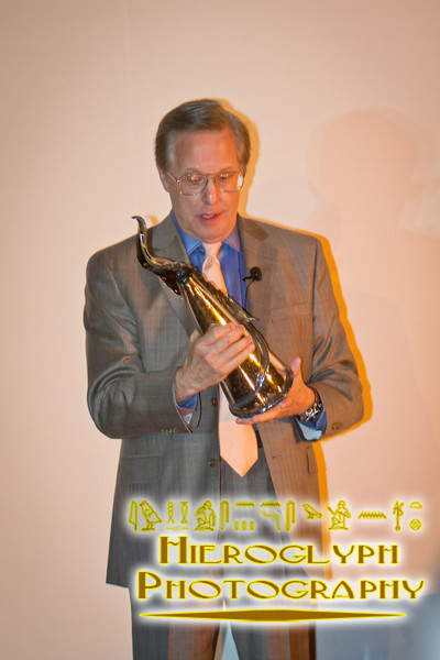 Director William Friedkin with his award for lifetime achievement