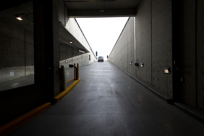 """City Creek Center underground parking garage 100 South Ramp - Designed by FFKR Architects -  <a href=""""http://www.ffkr.com"""">http://www.ffkr.com</a>"""