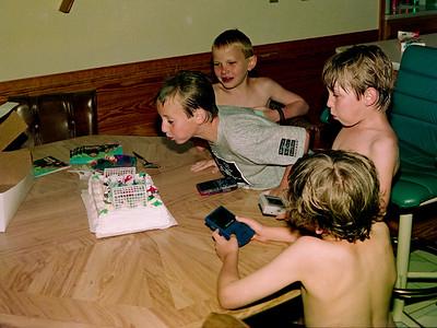 Ben's 9th Birthday June 1999