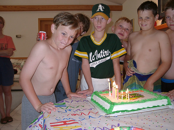 Ben's 10th birthday