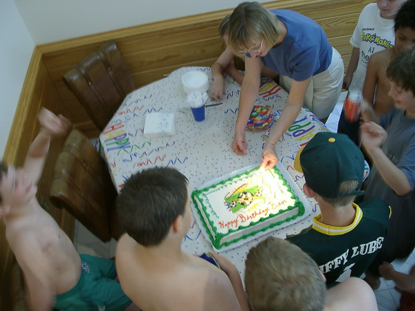 Ben's 10th birthday