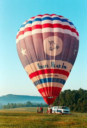 ARAMARK takes MJ for Balloon Ride August 1984