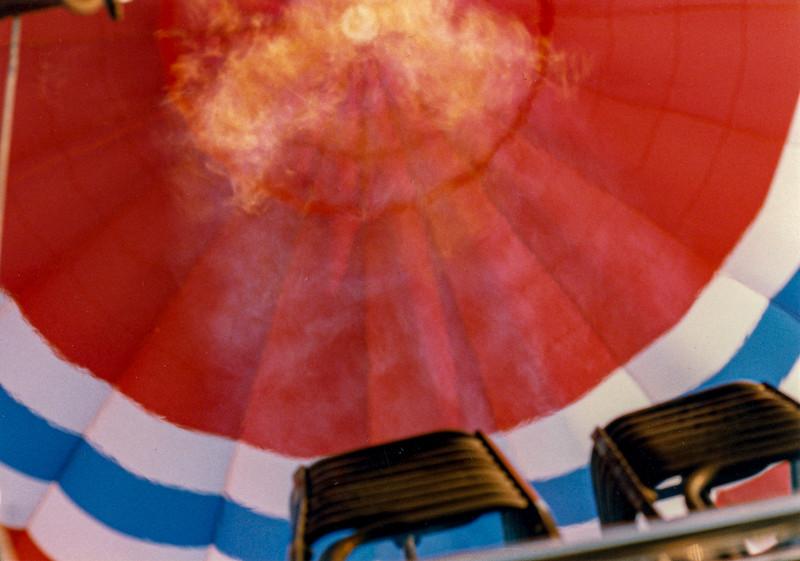 ARA Takes MJ for a Balloon Ride 1984