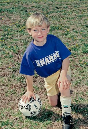Ben Soccer Posed circa 1995