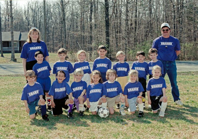 Ben Soccer Team circa 1995