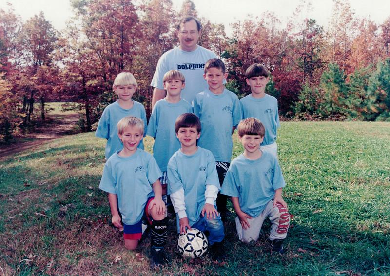 Ben Soccer Fall 96