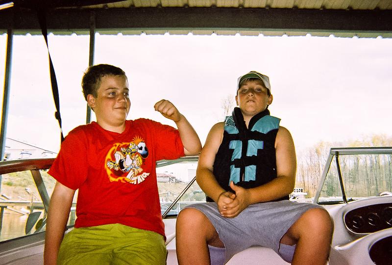 Ben and Devin circa 2001