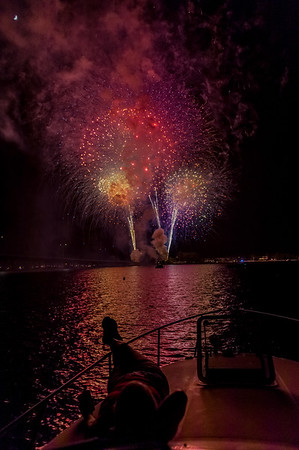 Fireworks from Disarray 7/4/2014