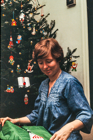 Christmas 1978 at Lizzy and Florence