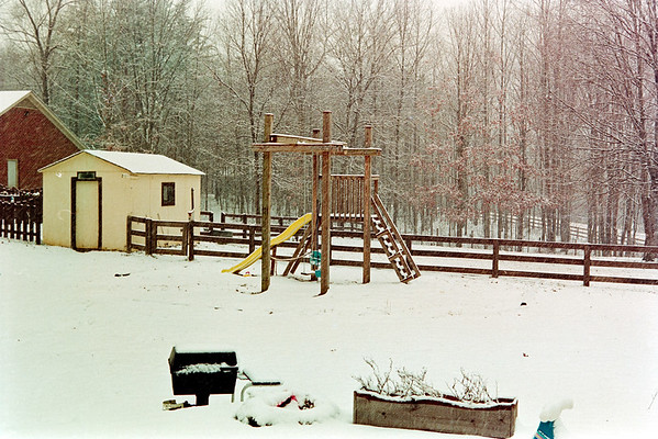 School's Out in Snow circa 1996