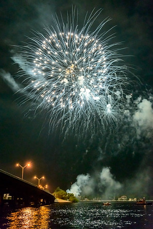 Cape Coral Red-White-Boom Fireworks July 4, 2012