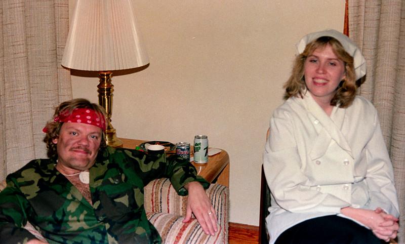 Halloween at Lisas 1987