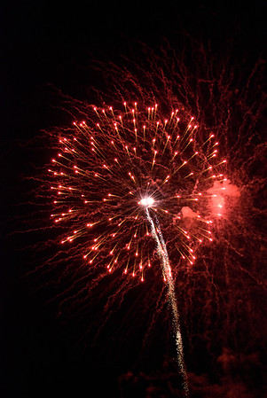 July 4th Fireworks from river