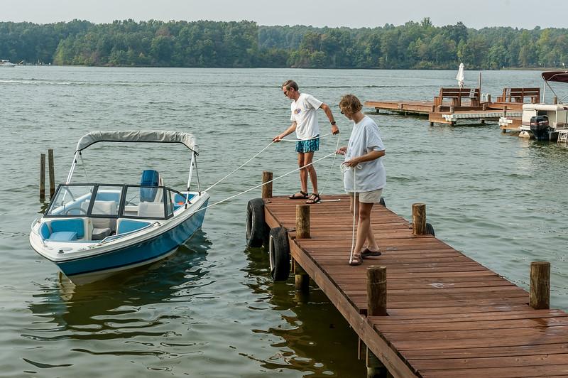 Larry Simpkins Boat