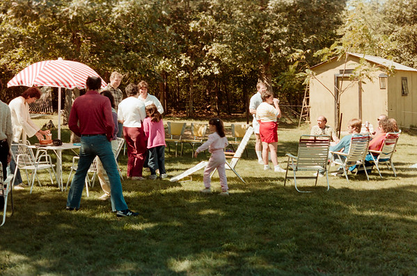 MJ Picnic at School's Out Summer 1985
