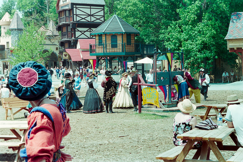 Diana and Ben at Renn Faire