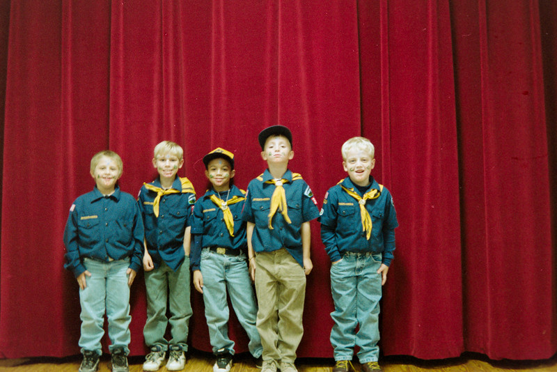 Scouts maybe circa 1995