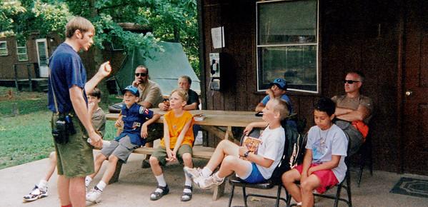 Cub Scout Camp circa 1998