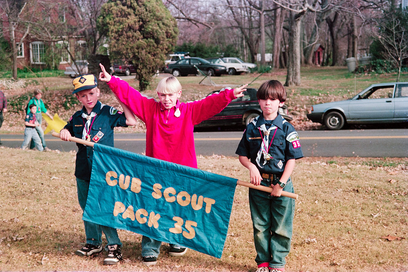 Ben Scouting Christmas Parade