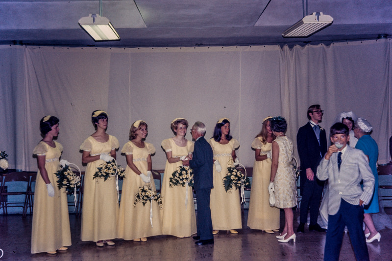 Diane Duke (Billings) wedding