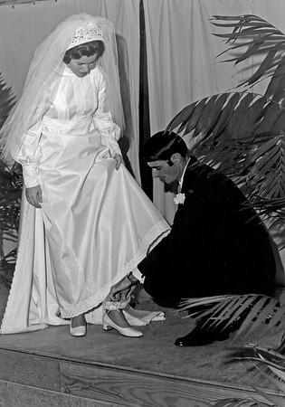 Bill Rogers and Gayle Duke Wedding 1971