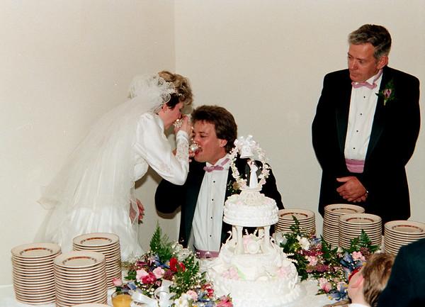 Garry & Sarah Hopkins Wedding 4/11/1987