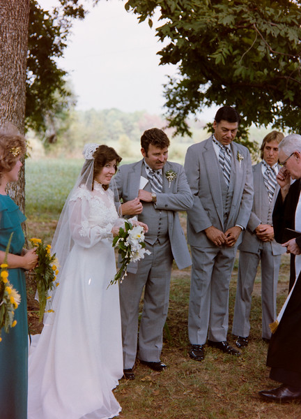 Kyle and Cristie Jenkins Wedding 1983