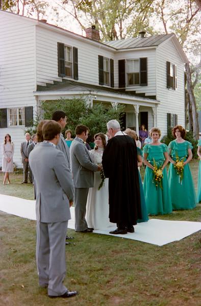 Kyle and Cristie Jenkins Wedding 1983