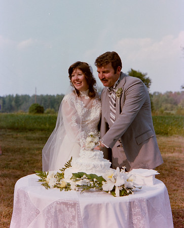 Kyle and Cristie Jennings Wedding 1983