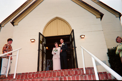 Lynn and Larry Simpkins Married May 2001